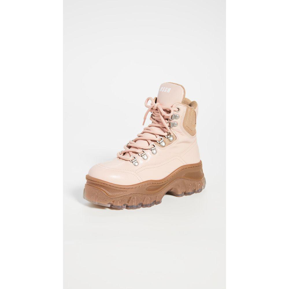 エムエスジーエム MSGM レディース ブーツ シューズ・靴【Hiking Boots】Nude