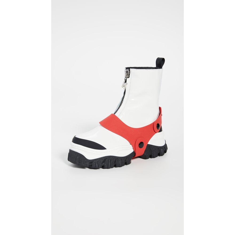 エムエスジーエム MSGM レディース ブーツ シューズ・靴【Zip Boots】White