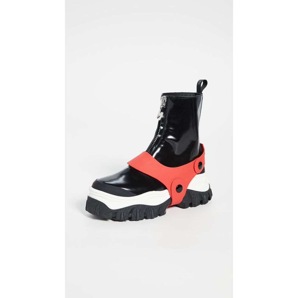 エムエスジーエム MSGM レディース ブーツ シューズ・靴【Zip Boots】Black