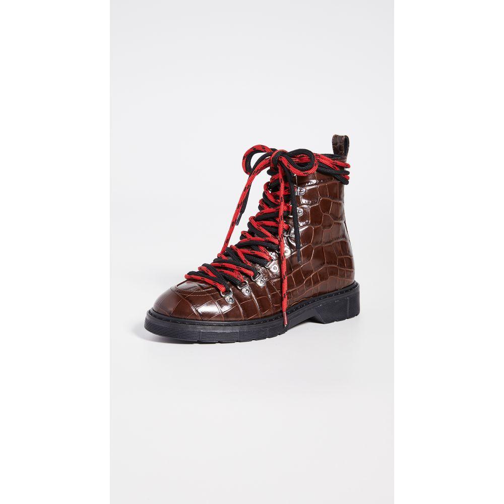 ポリープリューム Polly Plume レディース ブーツ シューズ・靴【Heidi Kokko Boots】Brown