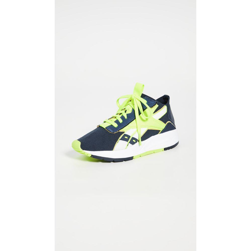リーボック Reebok x Victoria Beckham レディース スニーカー シューズ・靴【VB Low Bolton Sock Sneakers】Nt. Navy/White/S.Yellow
