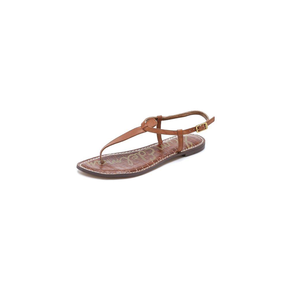 サム エデルマン Sam Edelman レディース サンダル・ミュール フラット シューズ・靴【Gigi Flat Sandals】Saddle