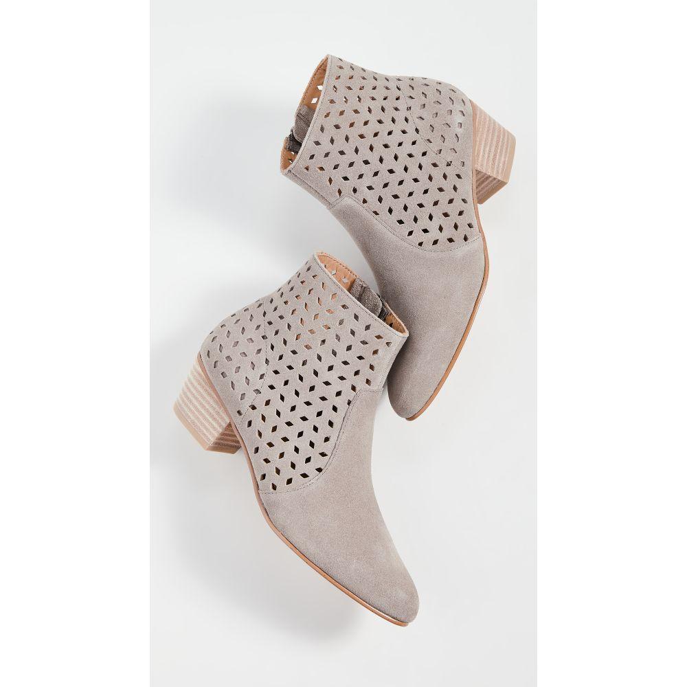 ソルドス Soludos レディース ブーツ ブーティー シューズ・靴【Lola Perforated Booties】Mineral Grey