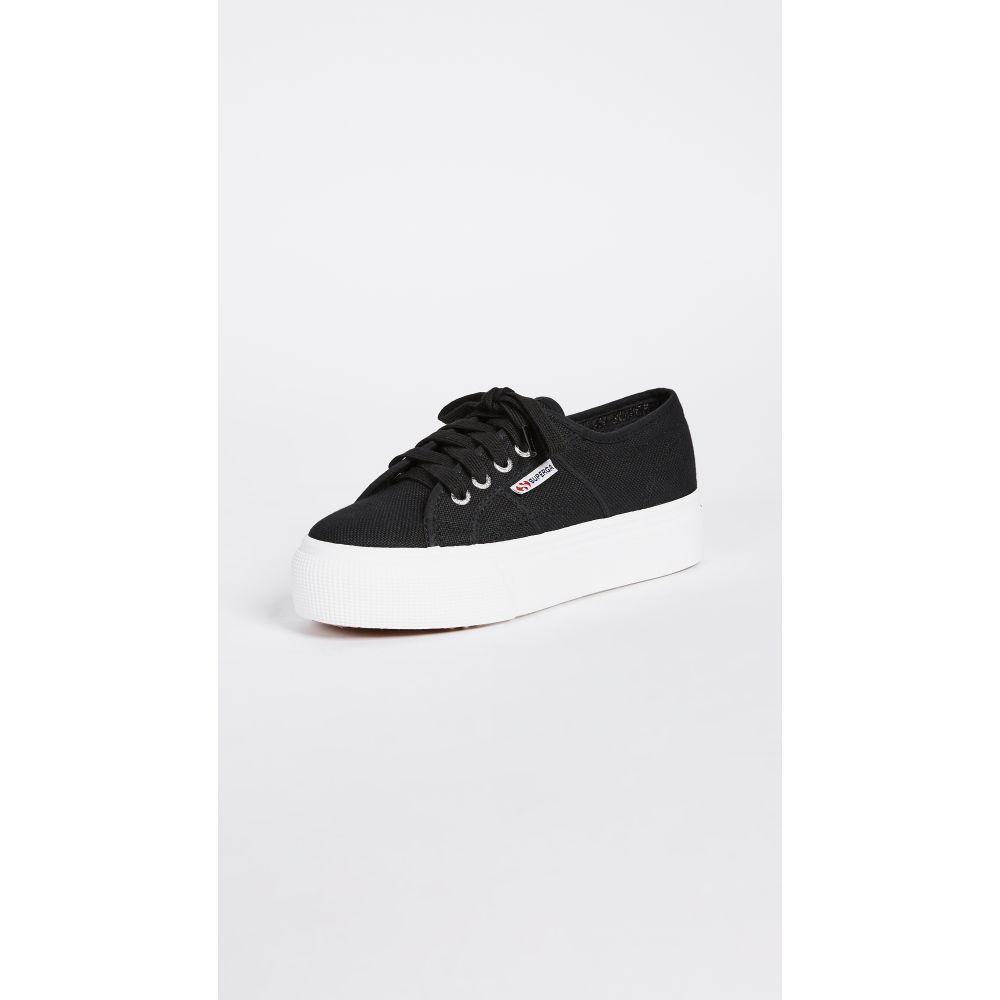スペルガ Superga レディース スニーカー シューズ・靴【2790 ACOTW Platform Sneakers】Black/White