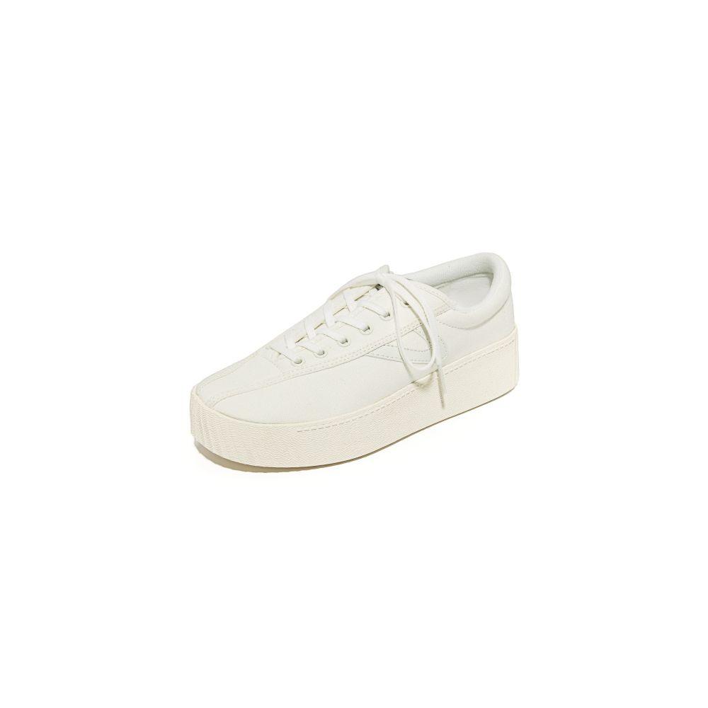 トレトン Tretorn レディース スニーカー シューズ・靴【Nylite Bold Platform Classic Sneakers】Vintage White