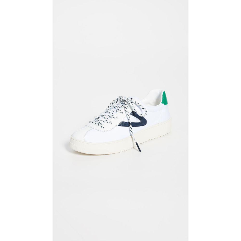 トレトン Tretorn レディース スニーカー シューズ・靴【Hayden Sneakers】Vintage White/Night/Green