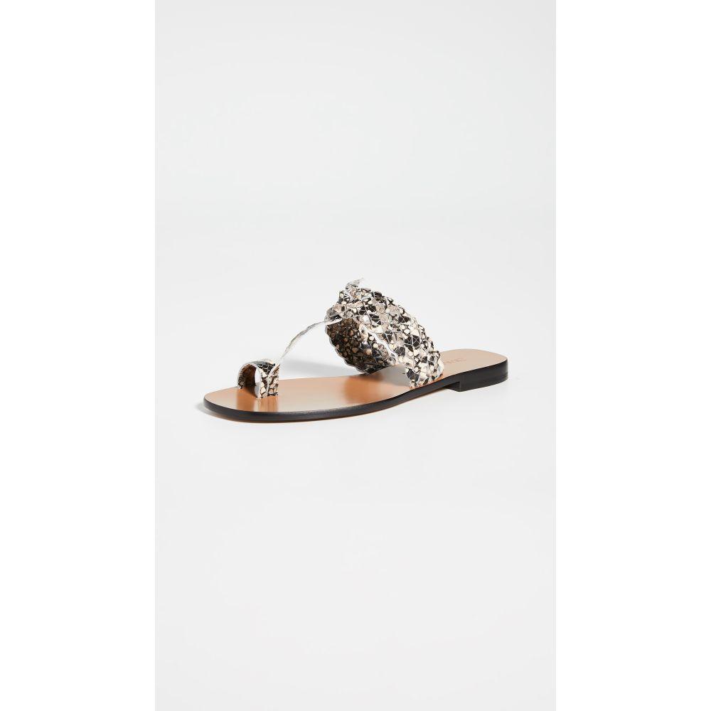 ジマーマン Zimmermann レディース サンダル・ミュール シューズ・靴【Braided Sandals】Grey Snake