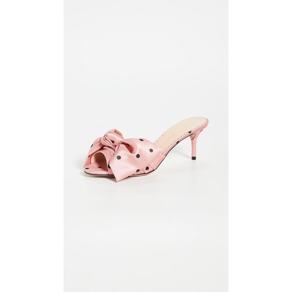 シャーロット オリンピア Charlotte Olympia レディース サンダル・ミュール シューズ・靴【Polka Dot Bow Sandals】Pink