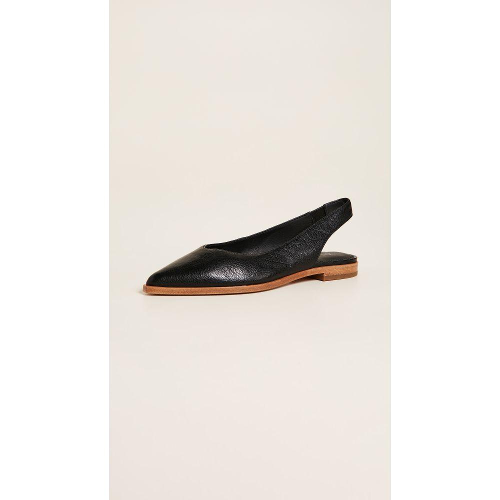 フライ Frye レディース スリッポン・フラット シューズ・靴【Kenzie Slingback Flats】Black