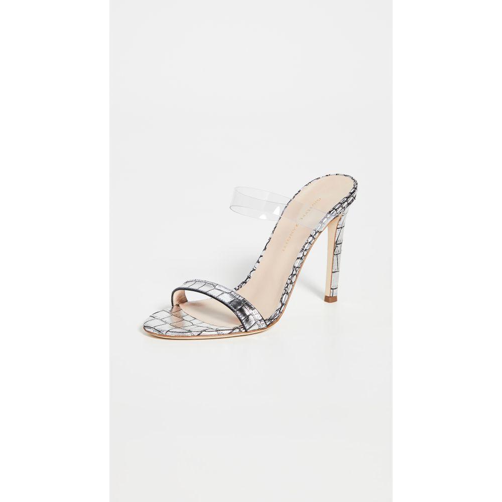 ジュゼッペ ザノッティ Giuseppe Zanotti レディース サンダル・ミュール シューズ・靴【Basic Sandals 105mm】Zanzaroun Argento
