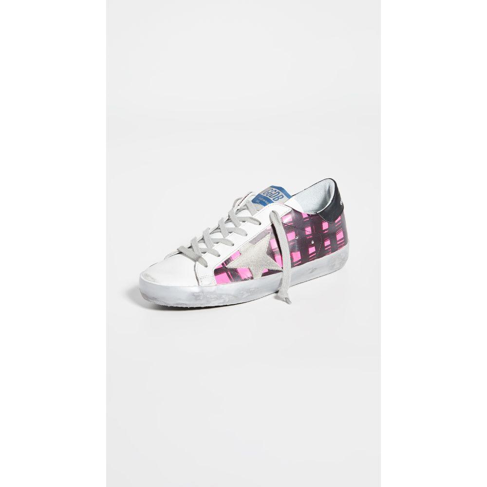 ゴールデン グース Golden Goose レディース スニーカー シューズ・靴【Superstar Sneakers】Fluo Check/Ice