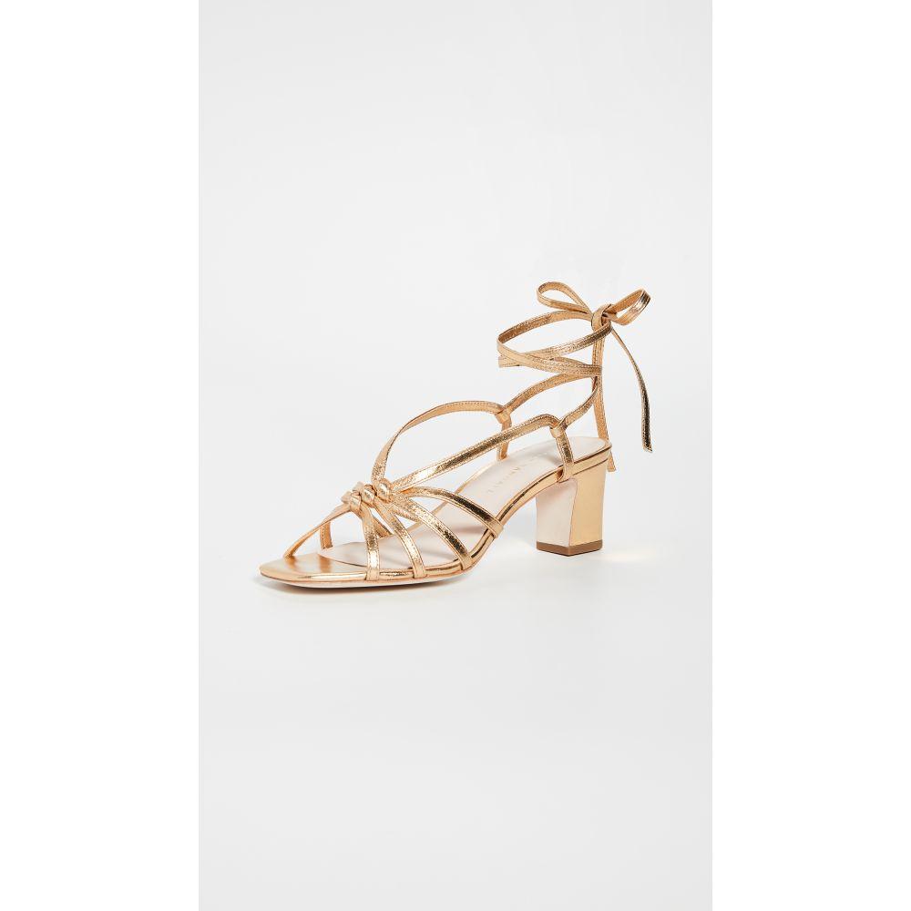 ロフラーランドール Loeffler Randall レディース サンダル・ミュール シューズ・靴【Libby Knotted Wrap Sandals】Gold