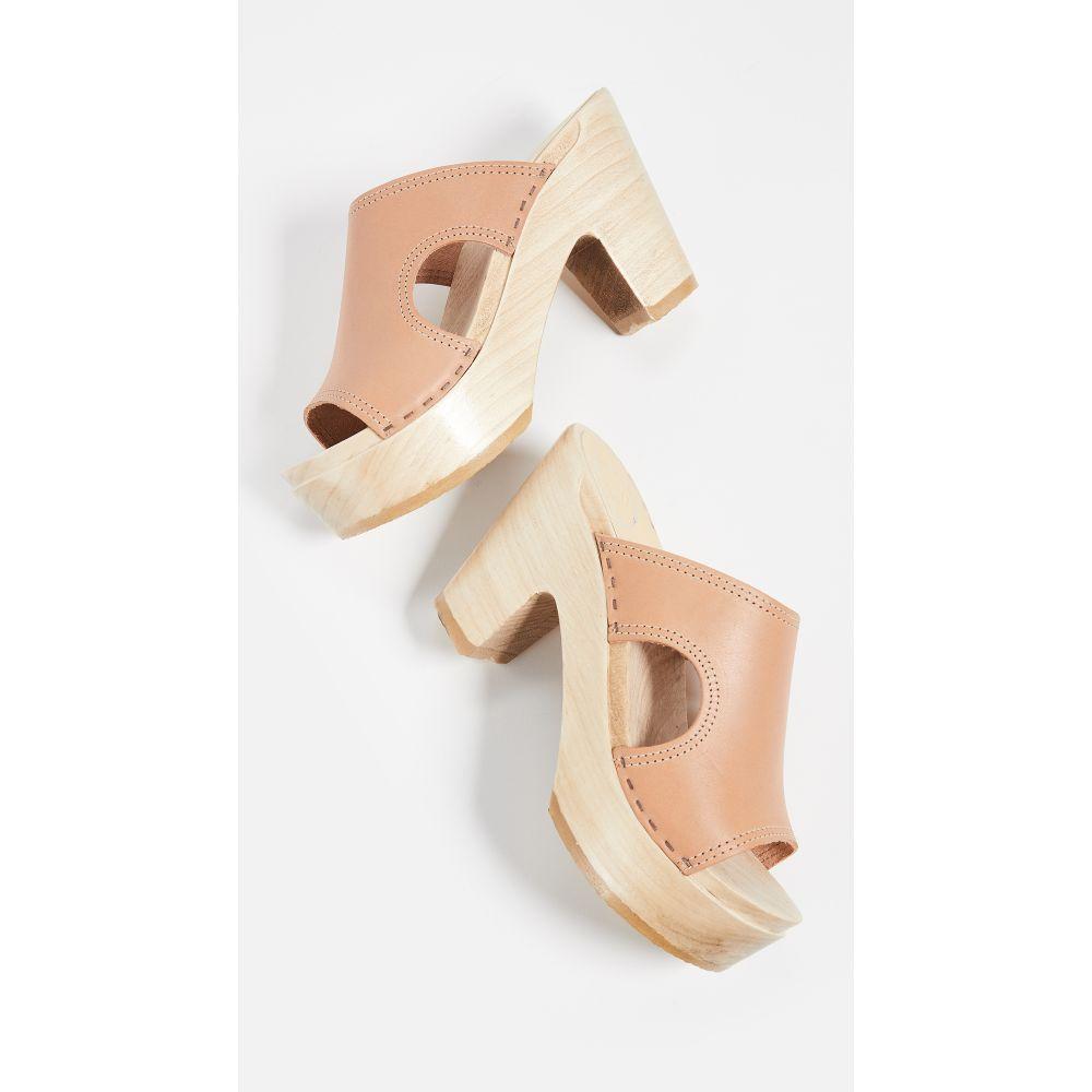 ナンバーシックス No.6 レディース クロッグ シューズ・靴【Alexis Cutout Platform Clogs】Naked