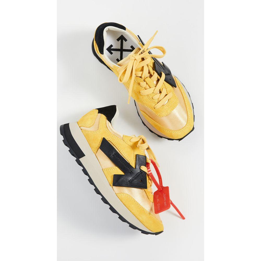 オフホワイト Off-White レディース スニーカー シューズ・靴【HG Runner Sneakers】Yellow/Black