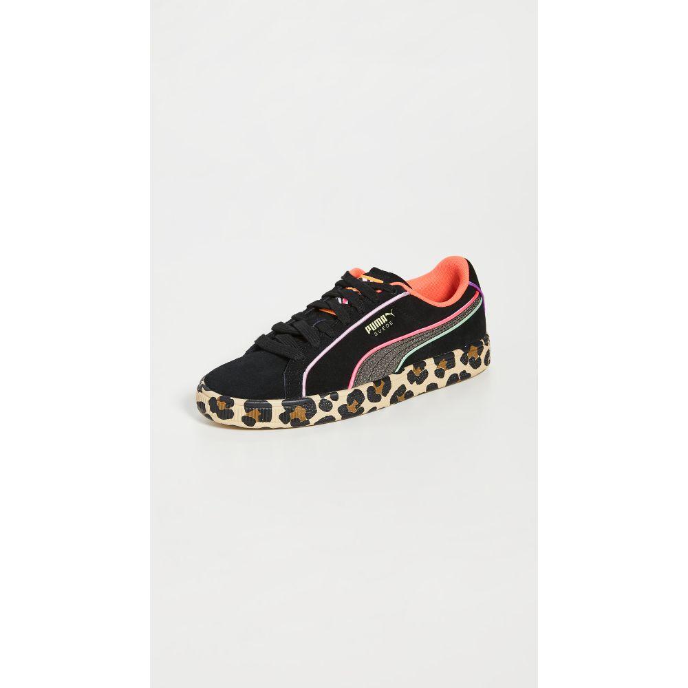 プーマ PUMA レディース スニーカー シューズ・靴【Suede Sophia Webster Sneakers】Puma Black