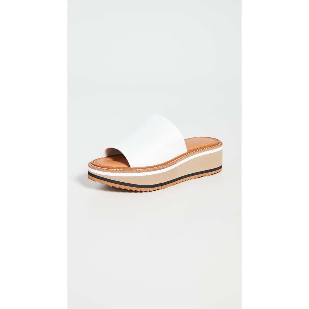 ロベール クレジュリー Clergerie レディース サンダル・ミュール シューズ・靴【Fast 3 Slides】White