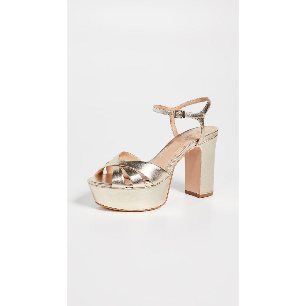 シュッツ Schutz レディース サンダル・ミュール シューズ・靴【Keefa Platform Sandals】Platina