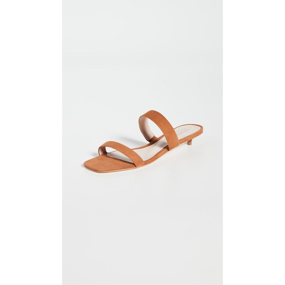 シュッツ Schutz レディース サンダル・ミュール シューズ・靴【Heidi Slides】Wood