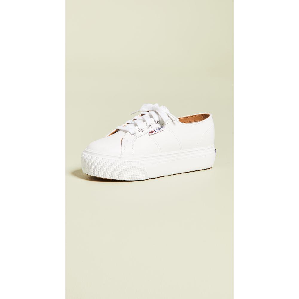 スペルガ Superga レディース スニーカー シューズ・靴【2790 Platform Sneakers】White