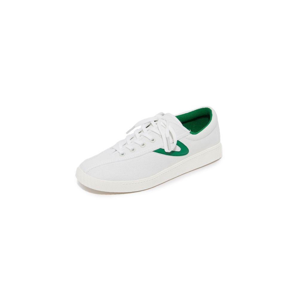 トレトン Tretorn レディース スニーカー シューズ・靴【Nylite Sneakers】Vintage White/Green