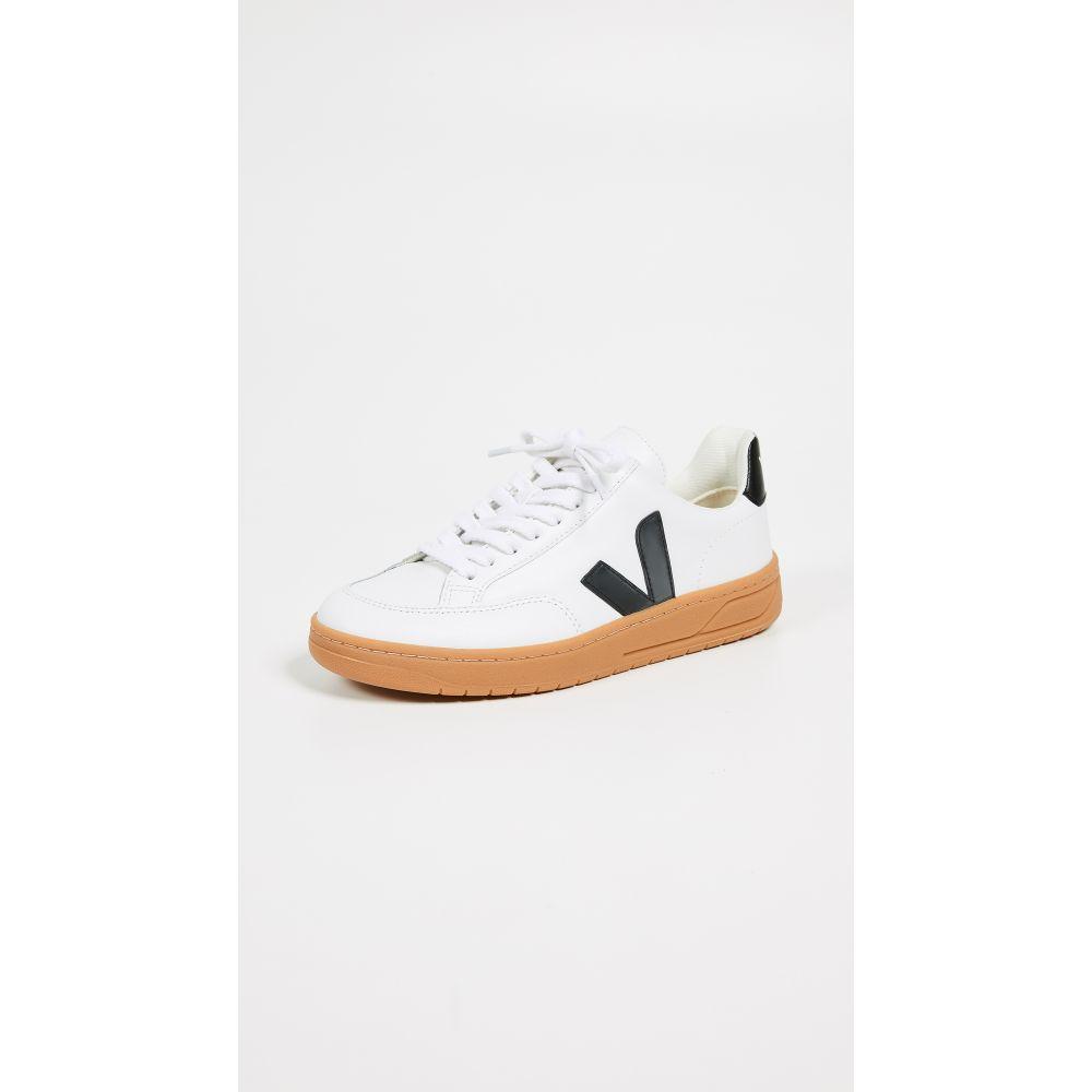 ヴェジャ Veja レディース スニーカー シューズ・靴【V-12 Sneakers】Extra White/Black/Natural Sole
