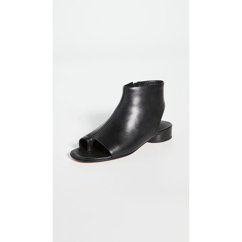 ヴィンス Vince レディース サンダル・ミュール ブーティー オープントゥ シューズ・靴【Maro Open Toe Booties】Black