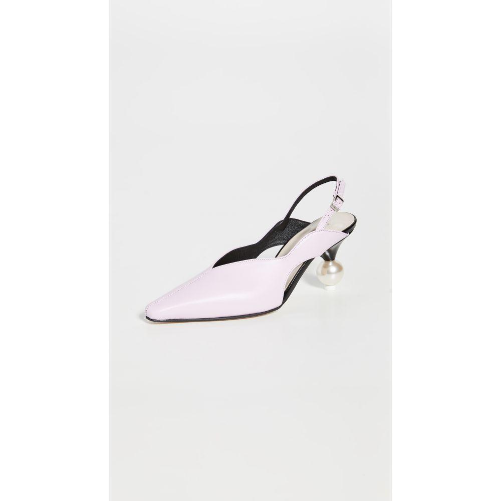 ユルイエ Yuul Yie レディース パンプス シューズ・靴【Doreen Slingback Pumps】Powder Pink/Black