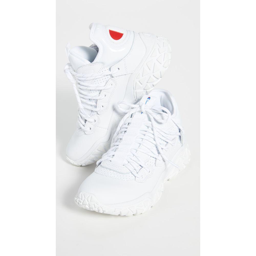 チャンピオン Champion レディース スニーカー シューズ・靴【Tank Sneakers】White