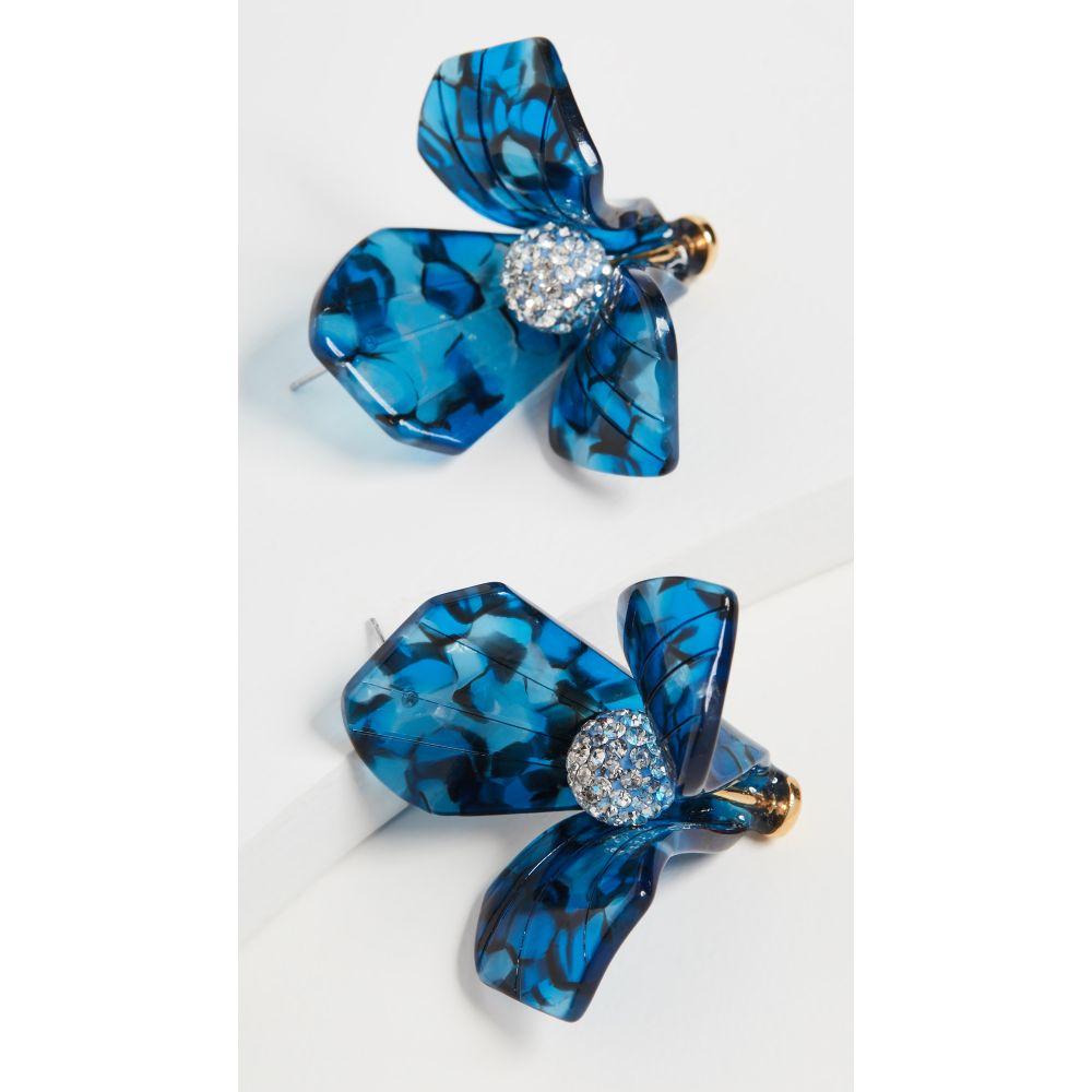 レレ サドイ Lele Sadoughi レディース イヤリング・ピアス ジュエリー・アクセサリー【Triullium Stud Earrings】Royal Blue