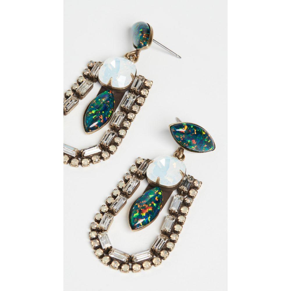 ライオネット Lionette by Noa Sade レディース イヤリング・ピアス ジュエリー・アクセサリー【Annie Opal Earrings】Green