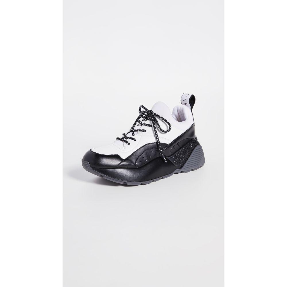 ステラ マッカートニー Stella McCartney レディース スニーカー シューズ・靴【Eclypse Sneaker Laces】Black/White