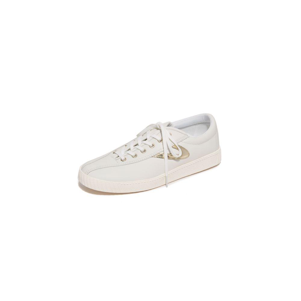 トレトン Tretorn レディース スニーカー シューズ・靴【Nylite 2 Sneakers】Snow White/Gold