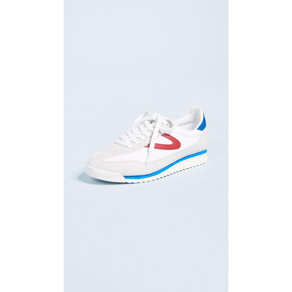 トレトン Tretorn レディース スニーカー シューズ・靴【Rawlins III Joggers】Off White/White/Red/Blue