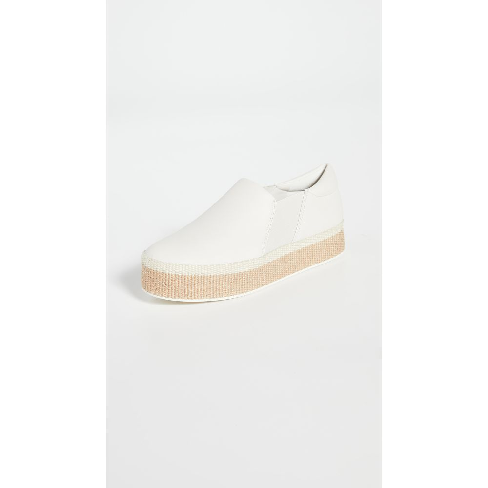 ヴィンス Vince レディース スリッポン・フラット シューズ・靴【Wilden Slip On Sneakers】Off White