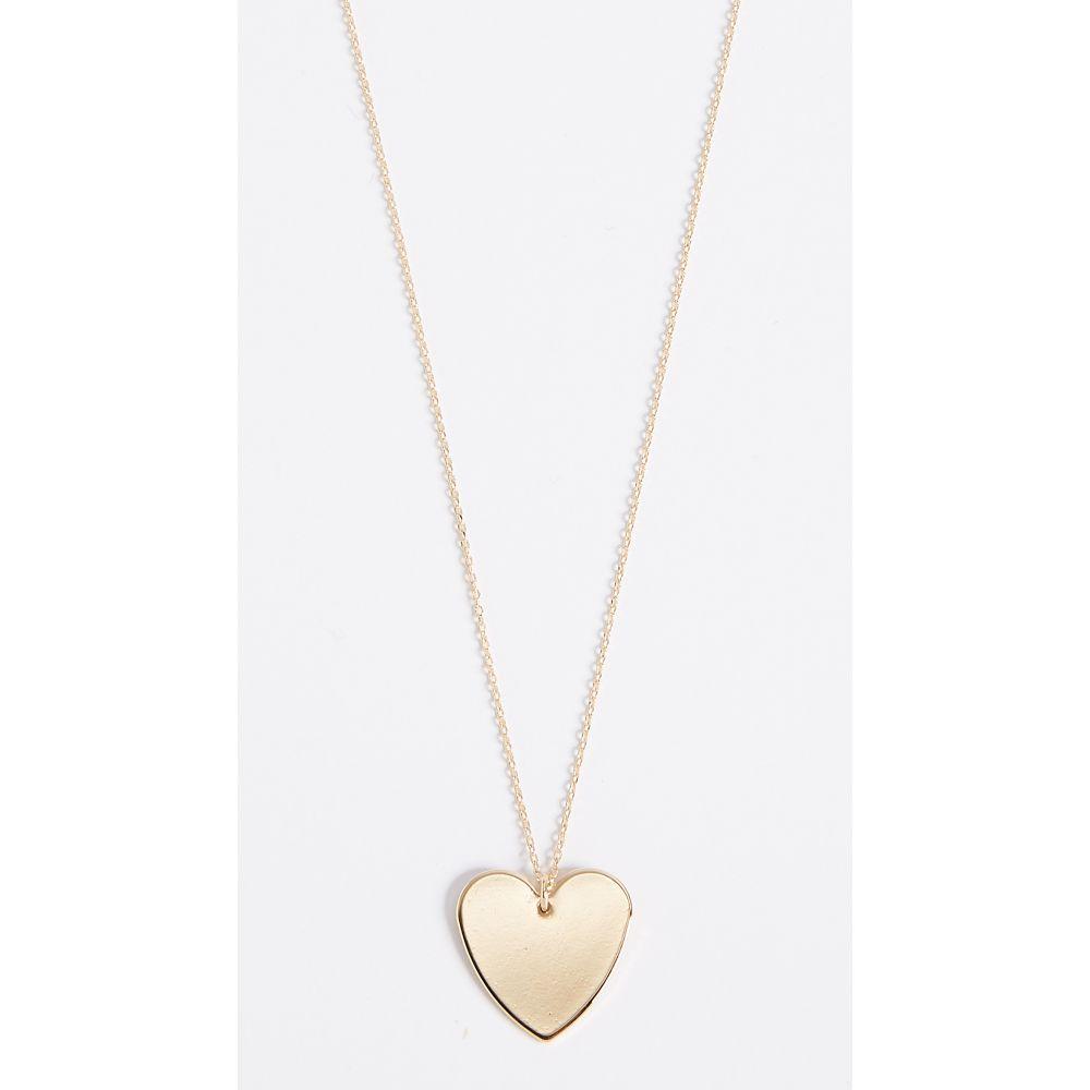クローバーポスト Cloverpost レディース ネックレス ハート ジュエリー・アクセサリー【Heart Necklace】Yellow Gold