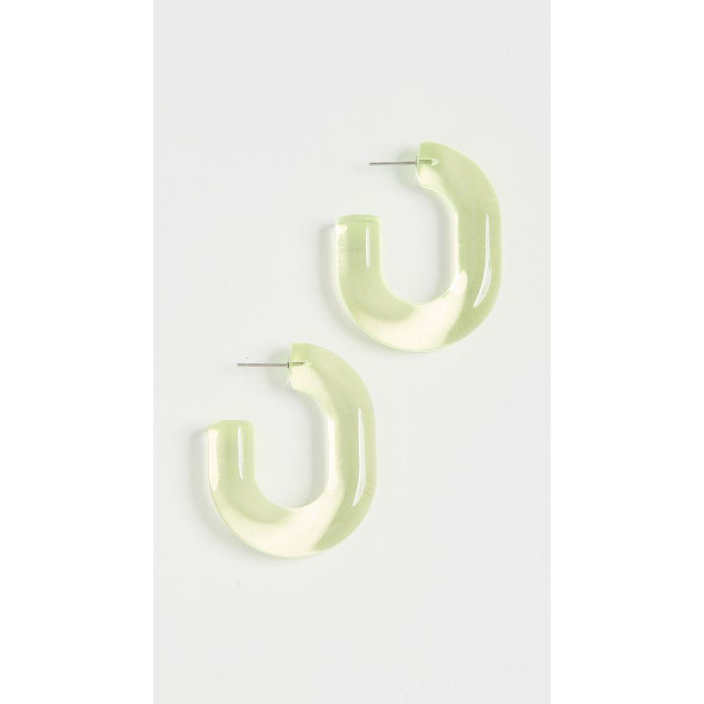 レイチェル コーミー Rachel Comey レディース イヤリング・ピアス ジュエリー・アクセサリー【Small Keeper Earrings】Clear Neon Yellow