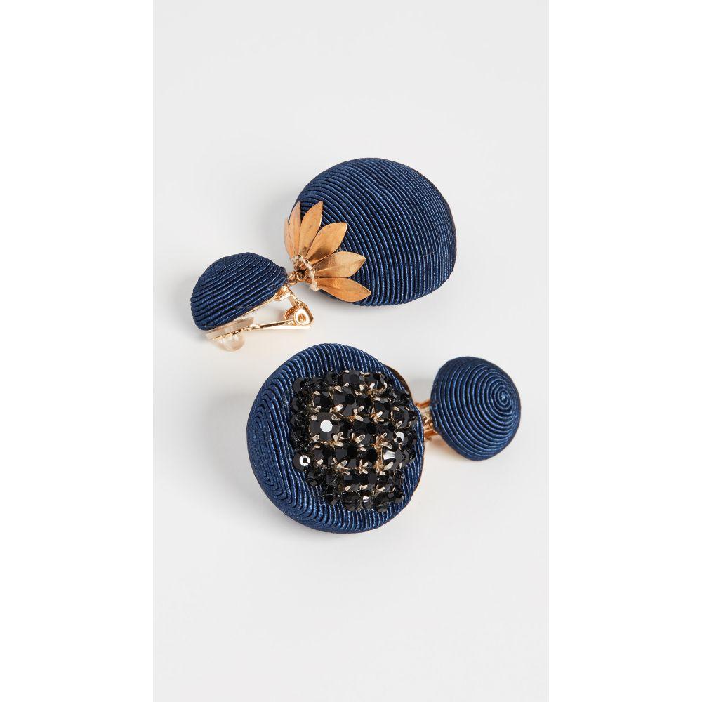 レベッカ デ ラヴェルネル Rebecca De Ravenel レディース イヤリング・ピアス ジュエリー・アクセサリー【Pomegranate Earrings】Navy