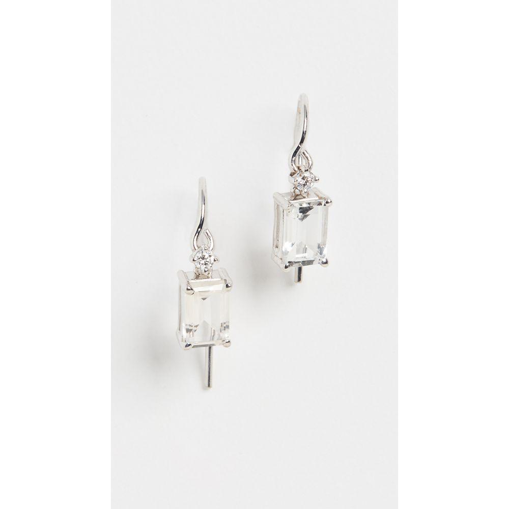 スザンヌ カラン Kalan by Suzanne Kalan レディース イヤリング・ピアス ジュエリー・アクセサリー【14k White Gold Dangle Earrings】White Gold