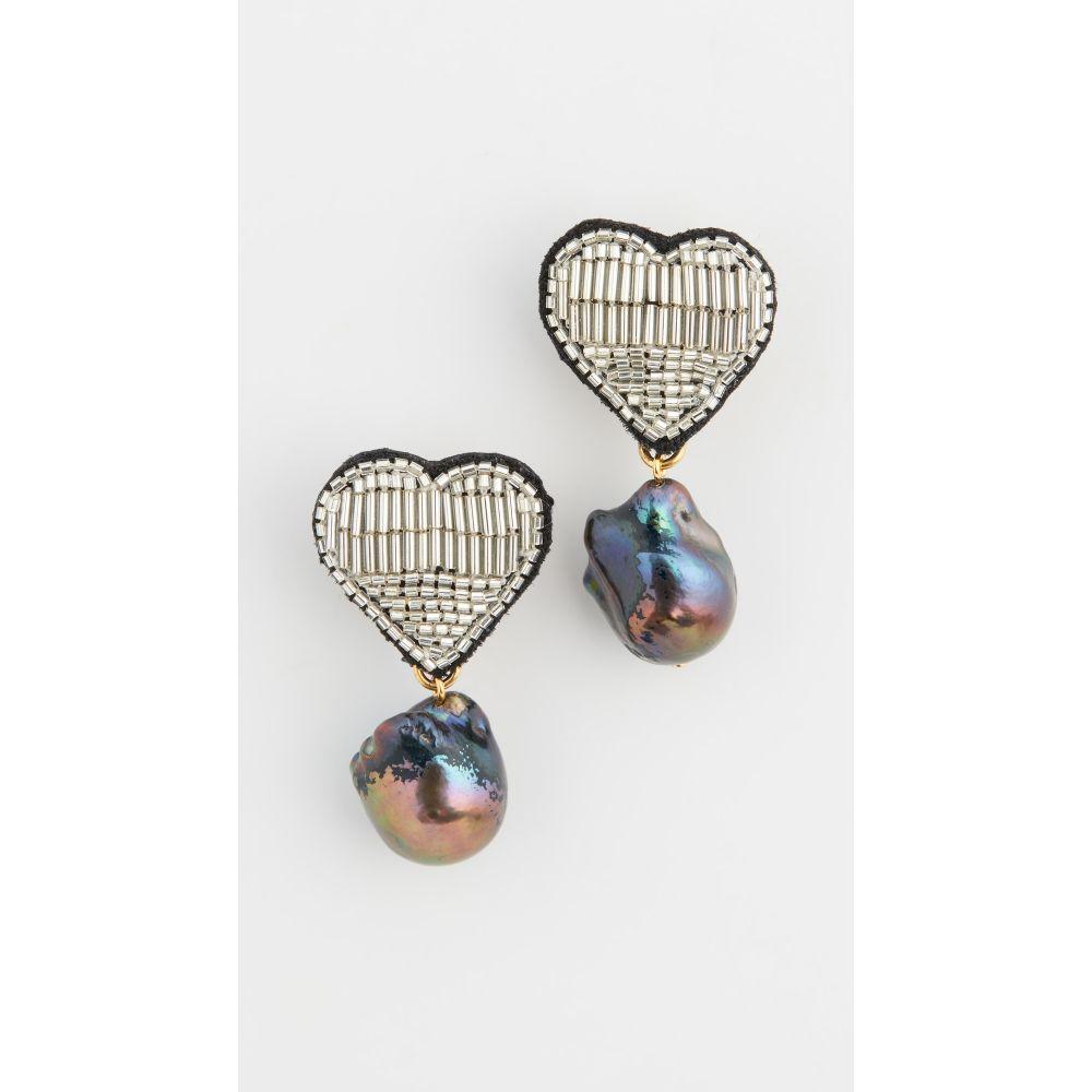 リジー フォルトゥナート Lizzie Fortunato レディース イヤリング・ピアス ハート ジュエリー・アクセサリー【French Heart Earrings】Multi