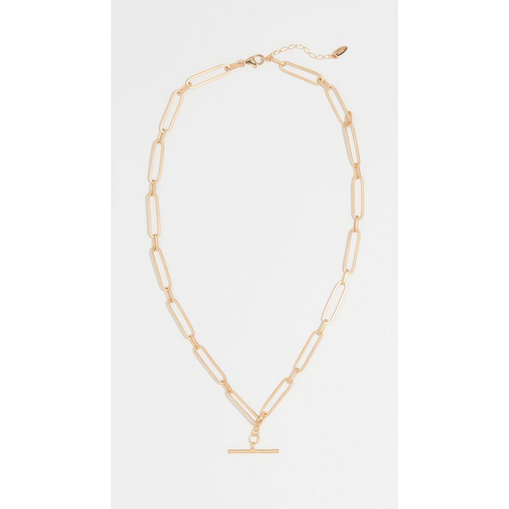 メゾンアイレム Maison Irem レディース ネックレス チョーカー ジュエリー・アクセサリー【Chain T Bar Choker Necklace】Yellow Gold