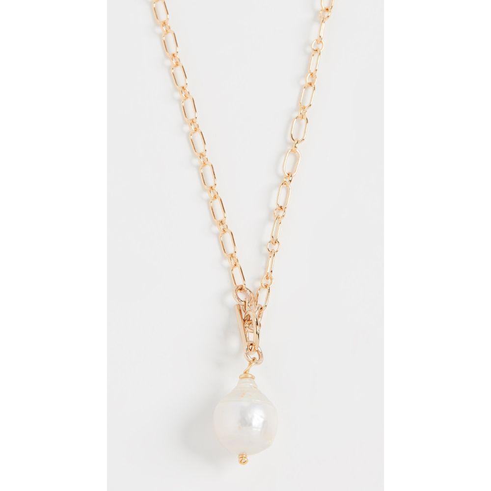 ブリンカー&エリサ Brinker & Eliza レディース ネックレス ジュエリー・アクセサリー【Back To Basics Necklace】Gold/Pearl