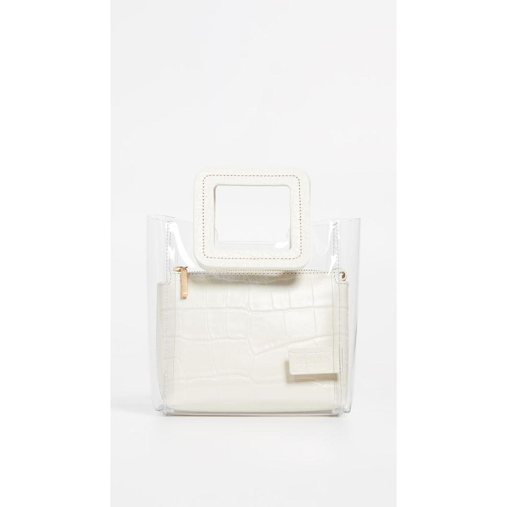 スタウド STAUD レディース バッグ 【Mini Shirley Bag】Clear/Cream