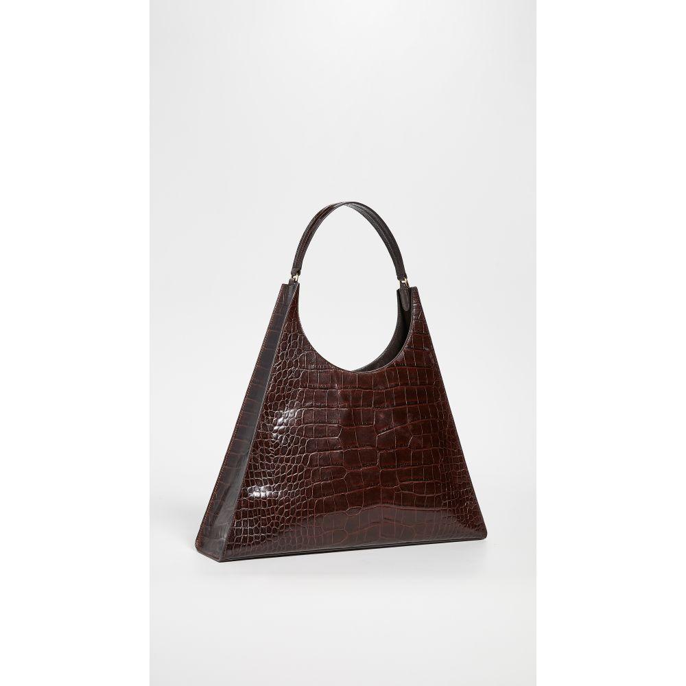 スタウド STAUD レディース バッグ Rey 高級品 Large 新作続 Brown Bag