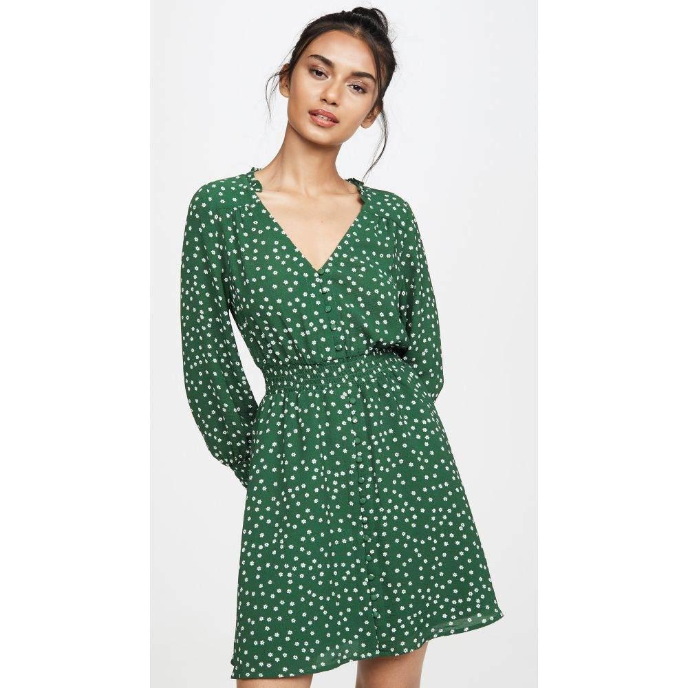 ビービーダコタ BB Dakota レディース ワンピース ワンピース・ドレス【Don't Call Me Ditsy Dress】Cypress Green