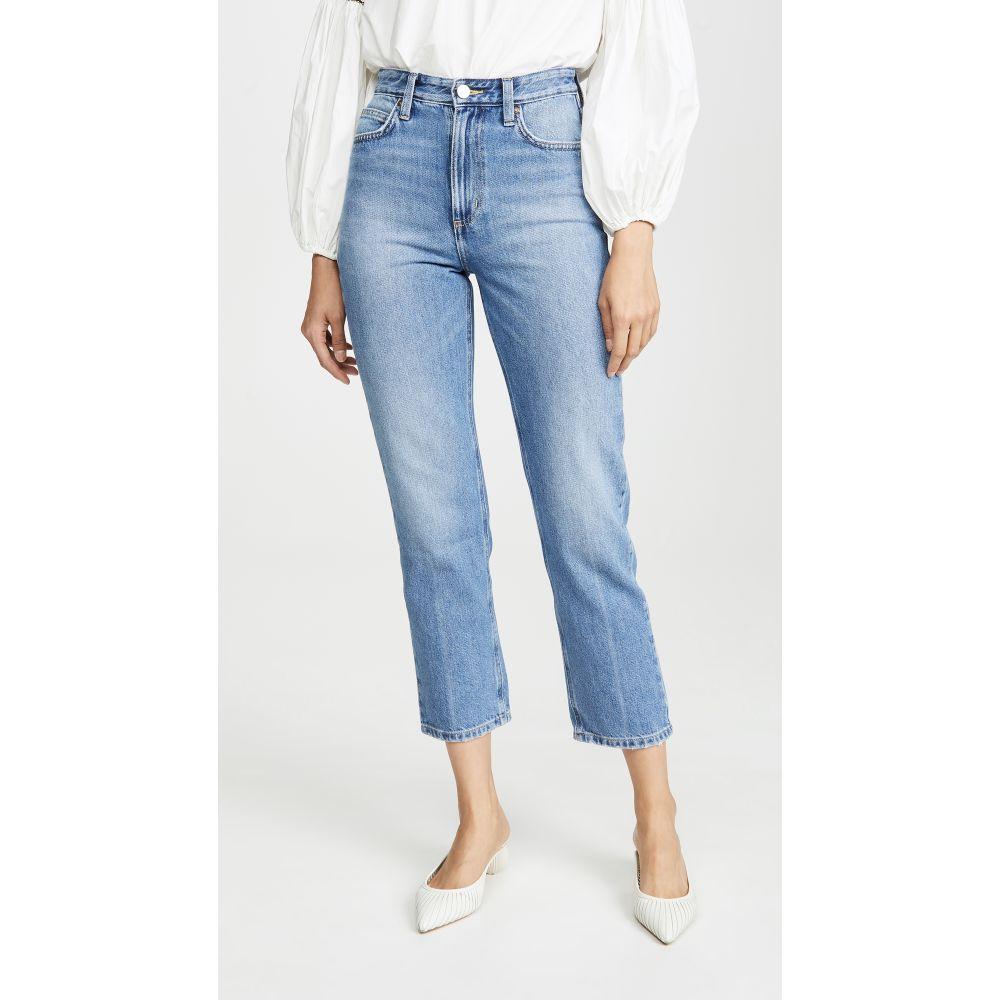 リー Lee Vintage Modern レディース ジーンズ・デニム ボトムス・パンツ【High Rise Straight Ankle Jeans】Salina