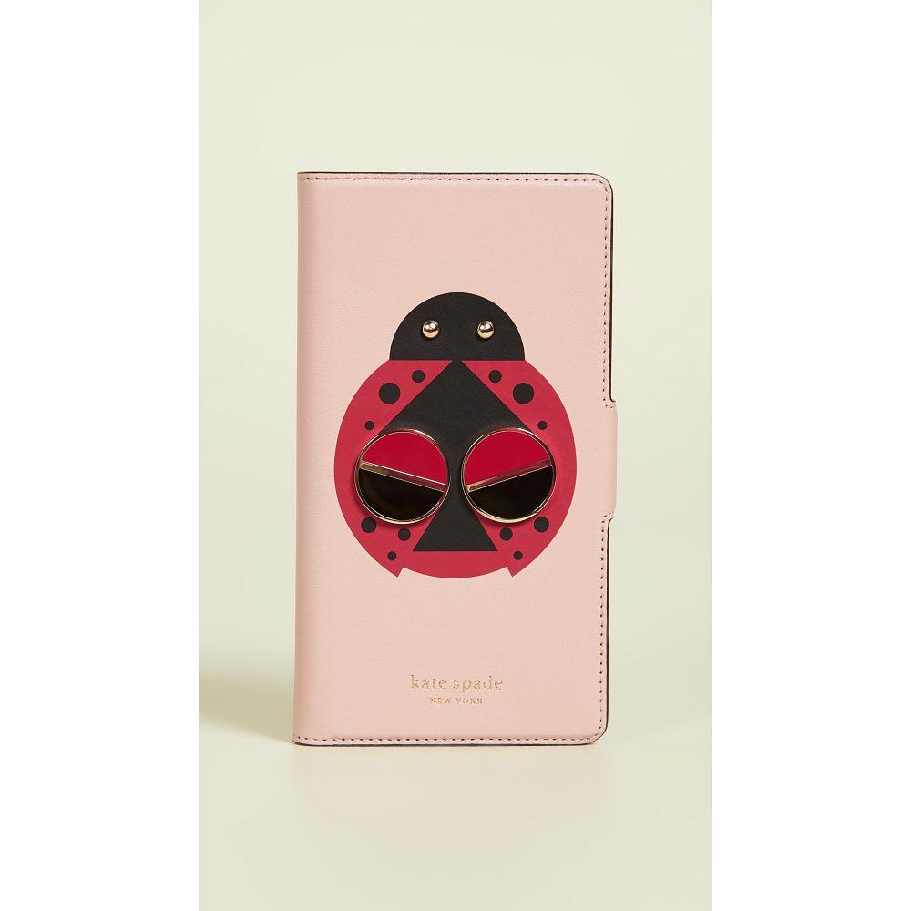 ケイト スペード Kate Spade New York レディース iPhoneケース 【Lucky Ladybug Folio iPhone Case】Flapper Pink