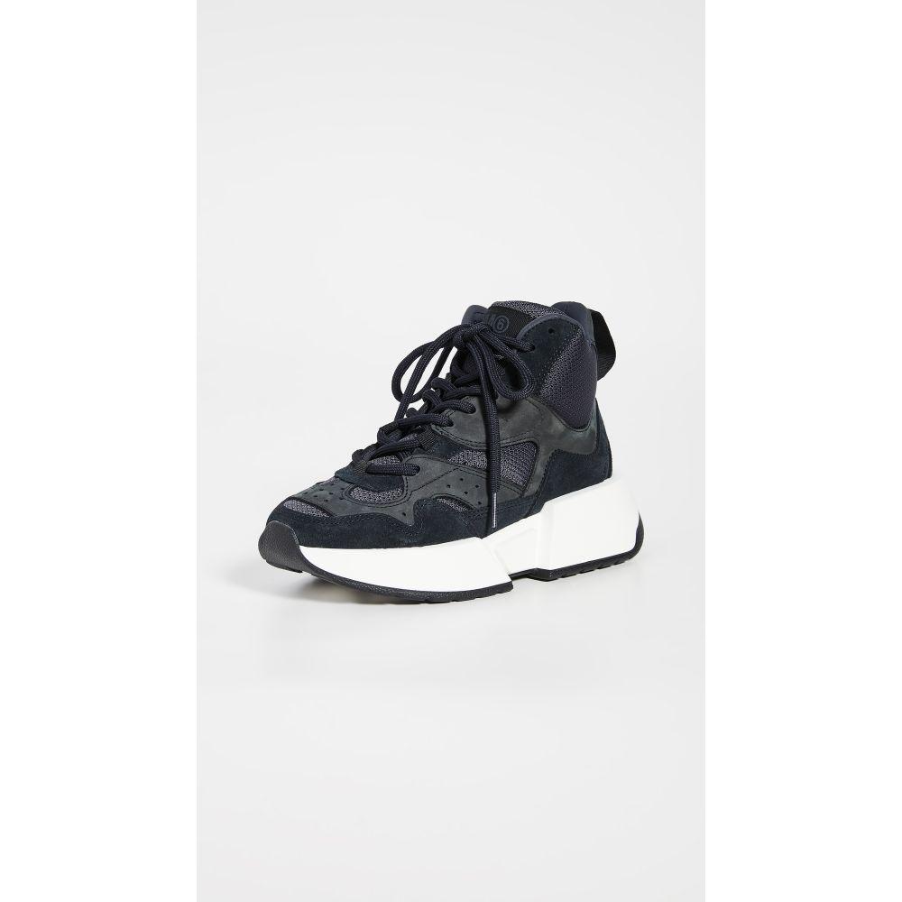 メゾン マルジェラ MM6 Maison Margiela レディース スニーカー シューズ・靴【High Top Trainers】Black