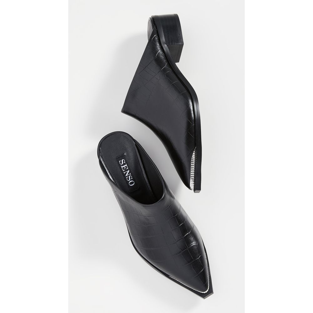 センソ SENSO レディース サンダル・ミュール シューズ・靴【Linnea Mules】Ebony