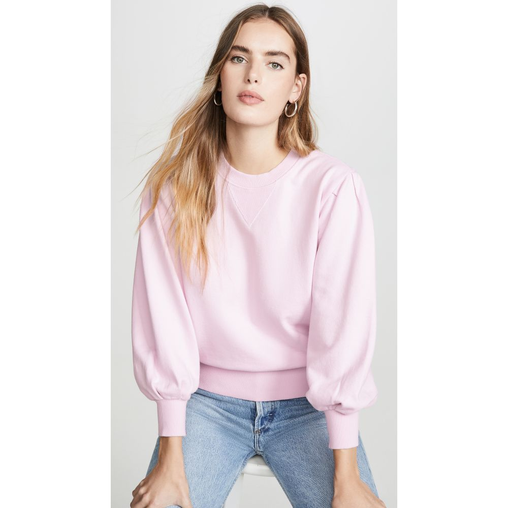 レベッカ ミンコフ Rebecca Minkoff レディース スウェット・トレーナー トップス【Scarlette Sweatshirt】Pink