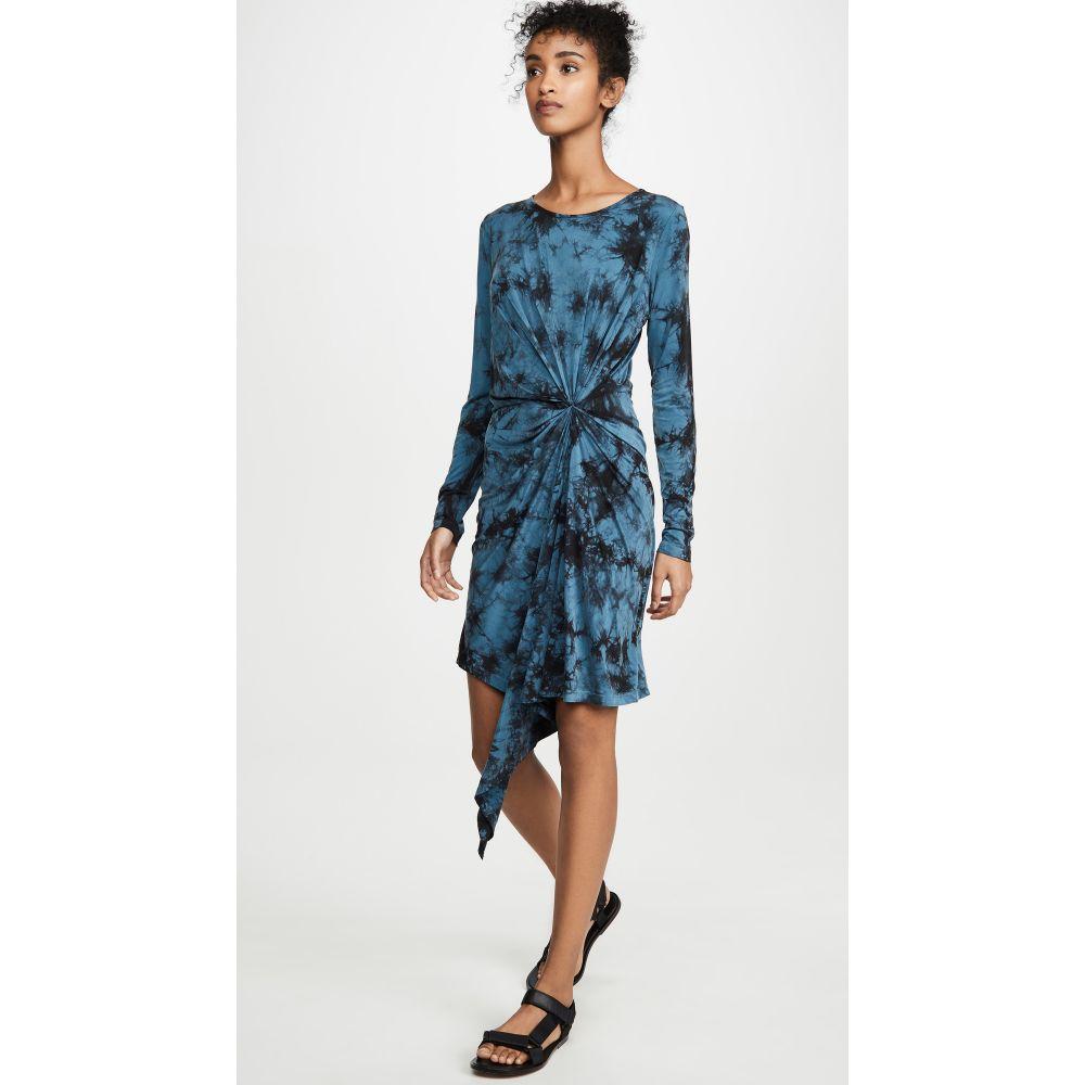 ヤング ファビュラス アンド ブローク Young Fabulous & Broke レディース ワンピース ワンピース・ドレス【Maisie Dress】Electric Blue Burst Wash